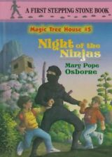 B008Kuji6E Magic Tree House #5: Night of the Ninjas (A Stepping Stone Book(Tm)