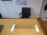 Schutzscheibe Spuckschutz Hustenschutz Niesschutz für Büro Gewerbe und Läden
