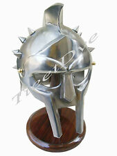 Gladiator Maximus helmet +Liner Christmas Gift Free Helmet Stand