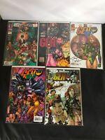 Lot of Four Gen 13 Autograph Comics PLUS BONUS ISSUE SEE DESCRIPTION