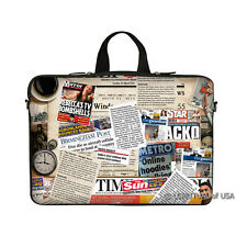 """15.6"""" Laptop Notebook Computer Sleeve Case Bag Magazine with Handle"""