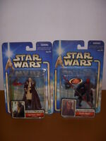 Star Wars, Phantom Menace, Lot of 2 Action Figures, Qui-Gon Jinn, Darth Maul!