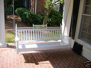 """Victorian 60"""" Porch Swing by  SFK Furniture"""
