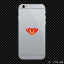 Super Dub Cell Phone Sticker Mobile superdub super-dub