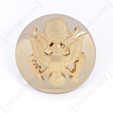 US ARMY ENLISTED MAN VISOR CAP BADGE - WW2 REPRO