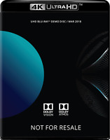 Dolby ATMOS VISION 4K Blu-Ray Demo Disc (March 2018)