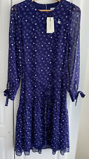 LK Bennett Violet DR Perl Dress Size 8 BNWT RRP £250 Small Imperfection
