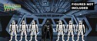 "Star Wars Kenner POTF 3.75"" Star Destroyer 11X7 Diorama Backdrop (No Figure)"