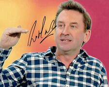 Lee MACK Signed Autograph 10x8 Photo 2 AFTAL COA Stand Up Comedian Not Going Out