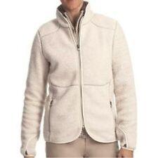 Woolrich - M - NWT - Ivory Long Sleeve Full Zip Sherpa Fleece Jacket