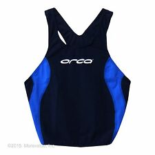 new L Orca men's race training swim singlet Aqua Glide Sensitive Fabric Italy