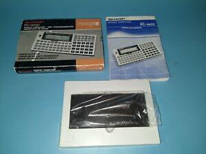 Sharp PC-1403H Pocket Computer Calculator 32KB Ram With Box manual