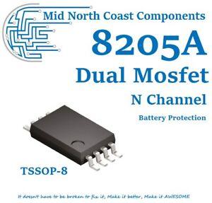 CEG8205A 8205A Dual N-Channel Enhancement Mode Mosfet Battery Protect TSSOP-8