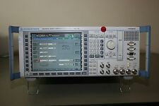 Rohde Schwarz Cmu200 with Gsm, C2K, Wcdma, Audio, Loaded!, Calibrated Warranty