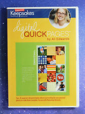 Creating Keepsakes: Digital Quick Pages by Ali Edwards  NEW in Shrink Wrap