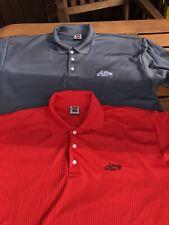2 x Callaway Golf Polo Shirts Size XL California USA Collection Lightweight Good