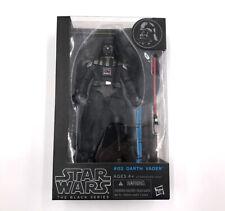 Darth Vader Edición #02 la serie negra Hasbro Star Wars Rara Figura De Acción