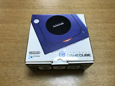 New Nintendo Gamecube VIOLET Console System Japan *GREAT OUTER BOX - COLLECTION*
