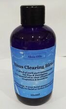 Sinus Clearing Inhalation Massage Oil  Blend 100ml  Eucalyptus Tea Tree Niaouli