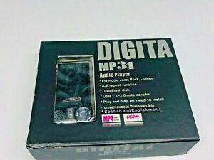 Digital MP3/MP4 Audio Player/ Silver / USB 1.1 - 2.0 Data Transfer/ A-B Repeat
