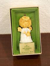 1977 Tree Trimmer Angel Hallmark Christmas Ornament Mib