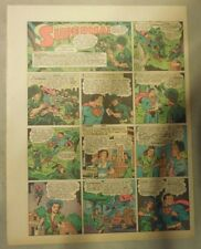 Superman Sunday Page #207 by Siegel & Shuster from 10/17/1943 Half Page:Year #4!