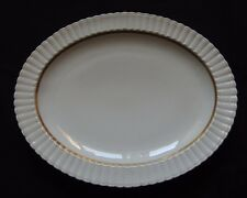 Good Antique Porcelain B&C Bernardaud Limoges Porcelain Gadroon Oblong Dish