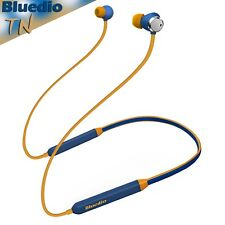 Bluedio TN Bluetooth 4.2 Cordless Earphones NCF, Mic Wireless Headphones Blue