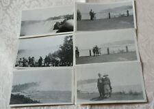 VINTAGE BLK&WHT EARLY 20TH CENTURY NIAGARA FALLS 6 FAMILY PHOTOS