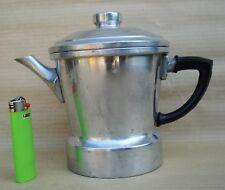 CAFFETTIERA ESPRESSO 2000 IN ALLUMINIO MACCHINA PER CAFFE' GRANDE VINTAGE DESIGN