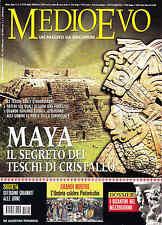 RIVISTA MEDIOEVO APRILE 2008: ELEZIONI COMUNALI, PINTORICCHIO, BIZANTINI, MAYA