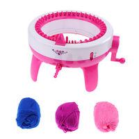 40 Needles Kids Knitting Machine Large Hand Weaving Loom DIY Scarf Hat Adult