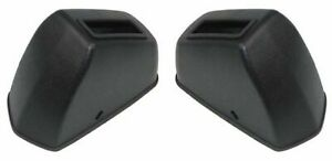 65-72 A-body Bucket Bench Deluxe Seat Belt Retractor Plastic Covers 2pc RCF-300