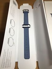 Genuine Apple 42mm Woven Nylon Band Strap for Watch Midnight Blue MQVM2AM/A