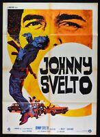 Poster Johnny Flink Black Belt Jones Jim KELLY Clouse Blaxploitation M11