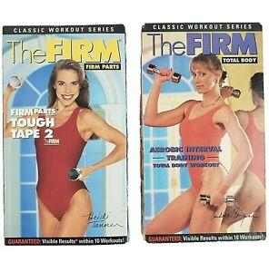 The Firm Sandahl Bergman Heidi Tanner Exercise Workout Fitness VHS Video Tape