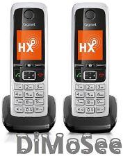 Gigaset C430HX Schnurlostelefon - Schwarz/Silber (S30852-H2765-B101)