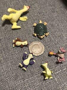 Ice Age Movie Baby/Mini Sid Sloth Family-Turtle-Vulture/Bird Figure Toy Rare