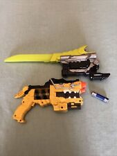 Power Rangers Dino Charge Yellow Morpher Blaster Green Saber Deluxe Charger