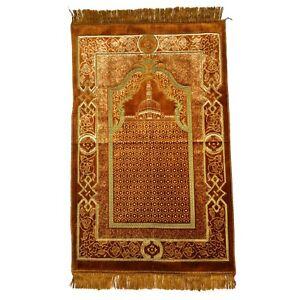 Tapis de Prière Tapis D'Orient Namaz Prière Islam Prière la Mecque Kibla Sejjada