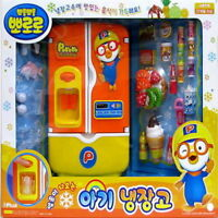 Pororo Character Refrigerator Fridge Toy For Kids Consists Food Accessories_nV