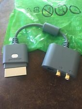 Genuine Microsoft Optical RCA Audio Adapter - Xbox 360