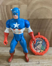 MARVEL Super Heroes Secret Wars Captain America & Bouclier Figure Mattel 1984