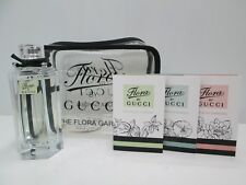 """ FLORA by GUCCI-GRACIOUS TUBEROSE "" PROFUMO DONNA EDT 100ml SPRAY+3MINI+BEAUTY"