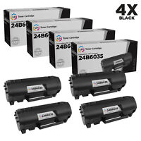 LD Compatible Lexmark 24B6035 Black Toner 4-Pack for use in M1145 & XM1145