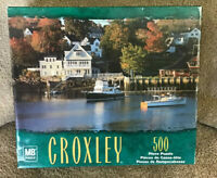 MB Croxley 500 Piece Jigsaw Puzzle - Camden Bay, Maine - New