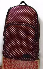 NEW!! VANS SCHOOLING PACK OS BURGUNDY DOTS CARRY LAP TOP BACKPACK