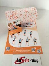 Blackroll Orange med 30 cm de masaje papel entrenamiento DVD entrenamiento póster nuevo