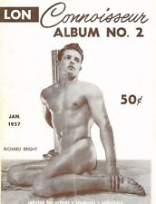 Connoisseur Album No.2, January 1957 By Lon,, Gay Male Beefcake Magazine