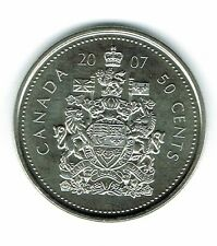 2007-M Canadian Brilliant Uncirculated Fifty Cent coin!